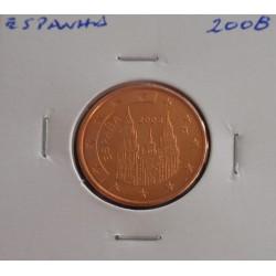 Espanha - 5 Centimos - 2008