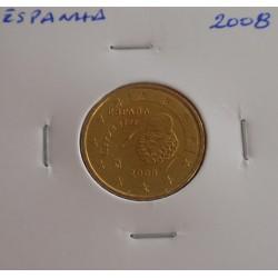 Espanha - 10 Centimos - 2008