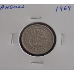 Angola - 2,50 Escudos - 1969