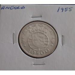 Angola - 10 Escudos - 1955...