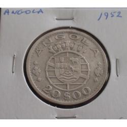 Angola - 20 Escudos - 1952...