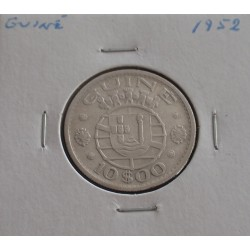 Guiné - 10 Escudos - 1952 -...