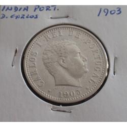 India - D. Carlos - 1 Rupia...
