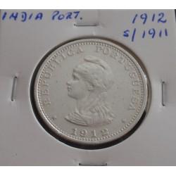 India - 1 Rupia - 1912...