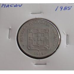 Macau - 1 Pataca - 1985