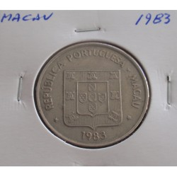 Macau - 5 Patacas - 1983