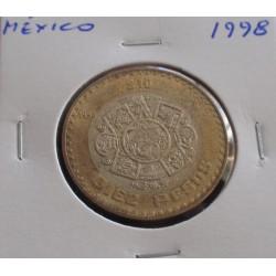 México - 10 Pesos - 1998