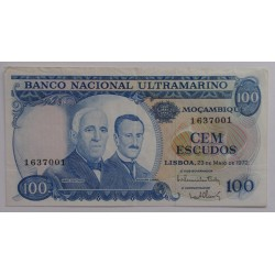 Moçambique - 100 Escudos -...