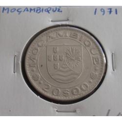 Moçambique - 20 Escudos - 1971
