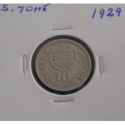 S. Tomé - 10 Centavos - 1929