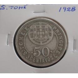 S. Tomé - 50 Centavos - 1928