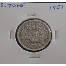 S. Tomé - 50 Centavos - 1951