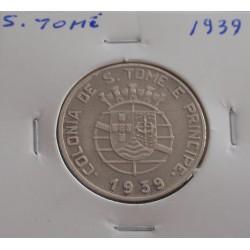S. Tomé - 1 Escudo - 1939
