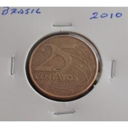 Brasil - 25 Centavos - 2010
