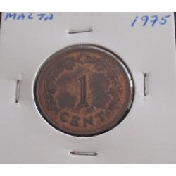 Malta - 1 Cent - 1975