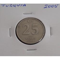 Turquia - 25 Kurus - 2005