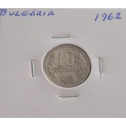 Bulgária - 10 Stotinki - 1962