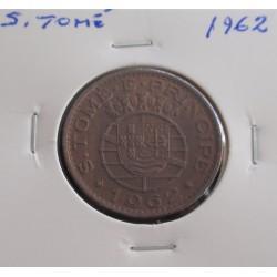 S. Tomé - 1 Escudo - 1962