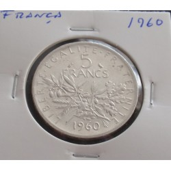França - 5 Francs - 1960 -...