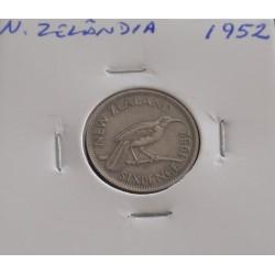 N. Zelândia - 6 Pence - 1952
