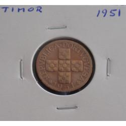 Timor - 10 Avos - 1951