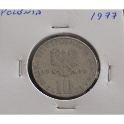Polónia - 10 Zlotych - 1977