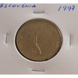 Eslovénia - 5 Tolarjev - 1997