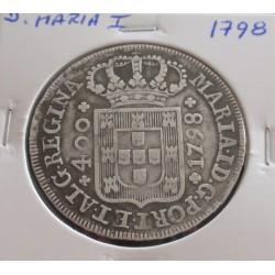 D. Maria I - Cruzado - 1798...