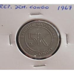 Rep. Dem. Congo - 5 Makuta...