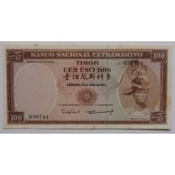 Timor - 100 Escudos -...