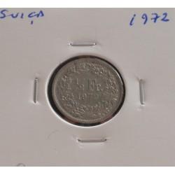 Suiça - 1/2 Franc - 1972