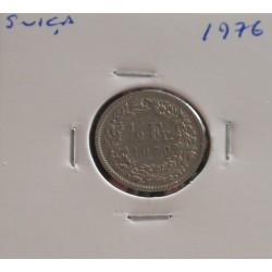 Suiça - 1/2 Franc - 1976