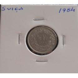 Suiça - 1/2 Franc - 1984