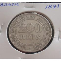 Brasil - 200 Réis - 1871