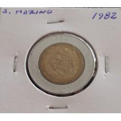 S. Marino - 500 Lire - 1982