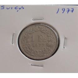 Suiça - 1 Franc - 1977