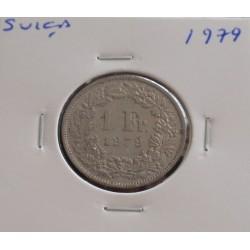 Suiça - 1 Franc - 1979