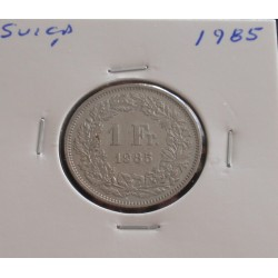 Suiça - 1 Franc - 1985