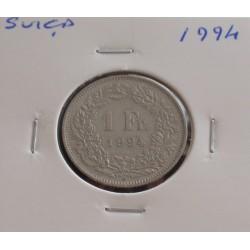 Suiça - 1 Franc - 1994