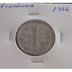 Finlândia - 1 Markka - 1966...