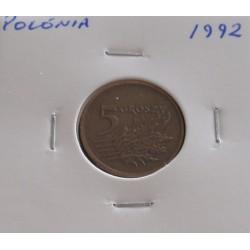 Polónia - 5 Groszy - 1992