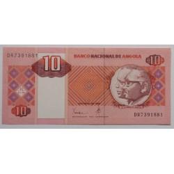 Angola - 10 Kwanzas - 10/1999
