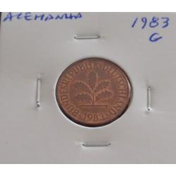 Alemanha - 2 Pfennig - 1983 G