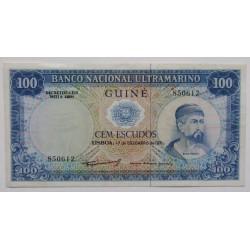 Guiné - 100 Escudos -...