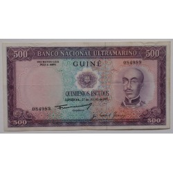 Guiné - 500 Escudos -...