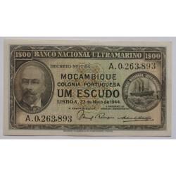 Moçambique - 1 Escudo -...