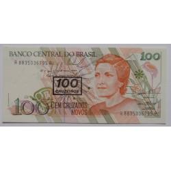 Brasil - 100 Cruzeiros, S/...