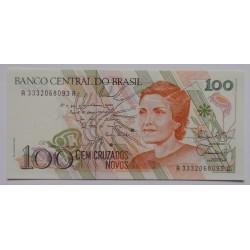 Brasil - 100 Cruzados Novos...