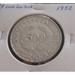 Finlândia - 500 Markkaa -...
