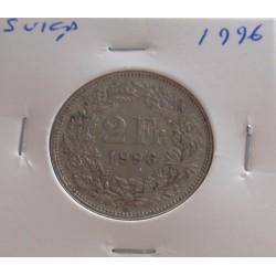 Suiça - 2 Francs - 1996
